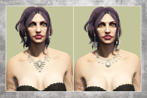 Necklace & Earring Set for MP Female