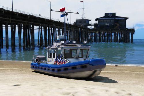 Nederlandse Politieboot / Dutch Police Boat [ELS | Replace]