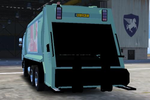 Nederlandse vuilniswagen (Dutch Garbage Truck)