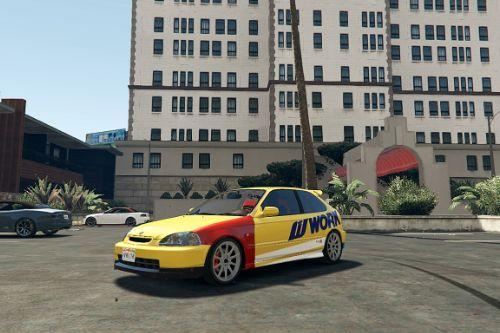 Need for Speed 2015 livery for Honda Civic EK9