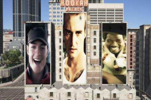 Need For Speed Darius Razor Sergeant Cross Advertisement Billboard Poster Ads (Need For Auto)