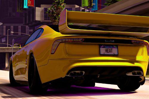 Need for Speed Heat License Plates