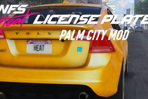 Need for Speed Heat Palm City License Plates