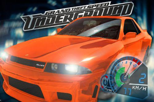 Need for Speed Underground Speedometer