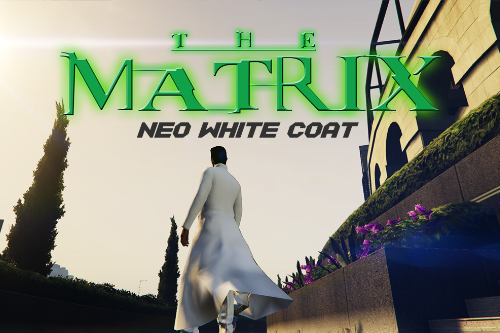 Neo The Matrix White Coat [Retexture]