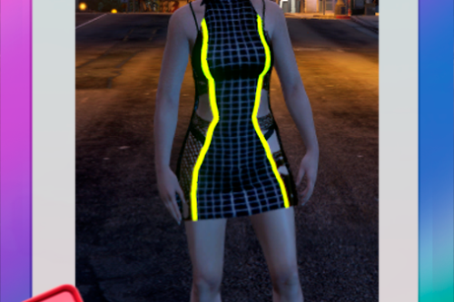 Neon Dress for Female (SP/FIVEM)