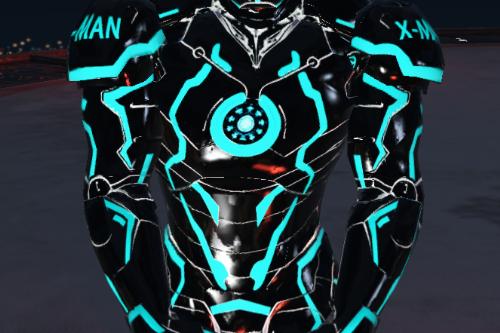Neon Tech Iron Man Mark II