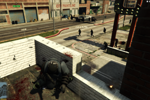 Improved Swat and Police IA, Nerfed Police and Swat