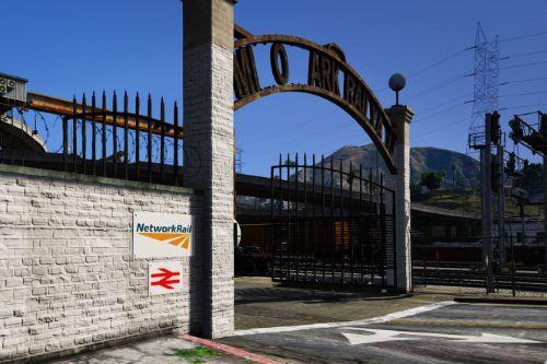 Network Rail Depot [UK] Retexture