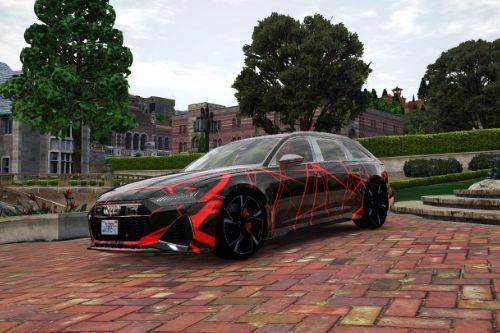 Neurons Liverys for Abolfazldanaee 2020 Audi RS6 Avant