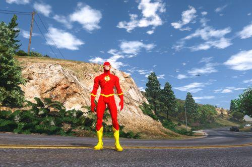 New 52 Flash (Classic Re-color)