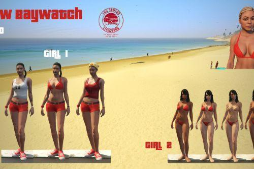 New Baywatch Girls
