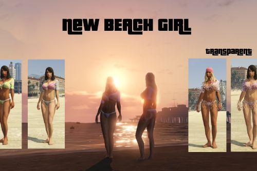 New beach girl