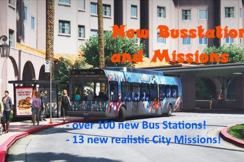 New Bus Stations and Missions (Rage Transportation)