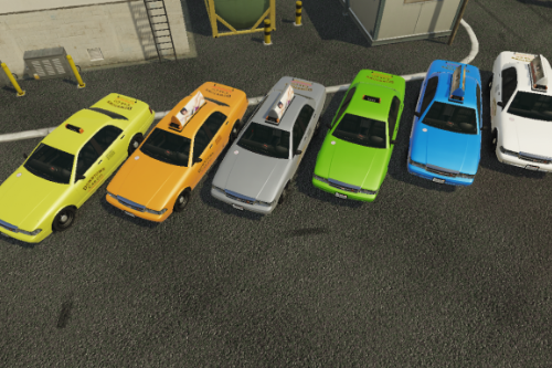 New Colors for Vanilla Taxi