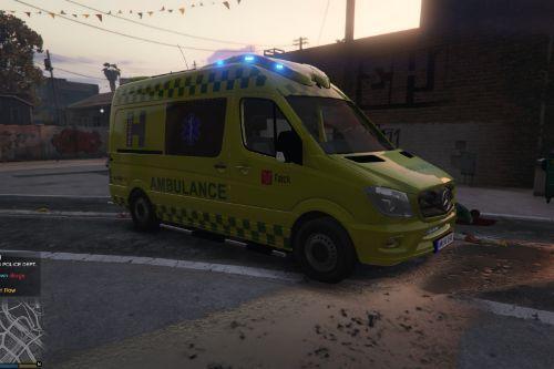 Danish Ambulance Skin