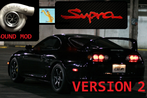 New Engine and Blow Off Sound for Toyota Supra