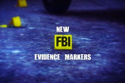 New FBI & CSI Evidence Markers