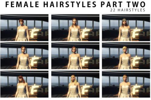 New Hairstyles for Female Part 2 [Update Added New Hair]