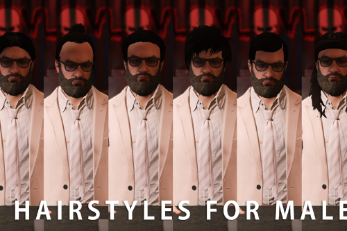 New hairstyles for Male MP [UPDATED NEW HAIRS]