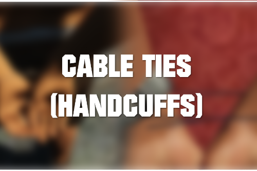 New Handcuffs (Cable ties)