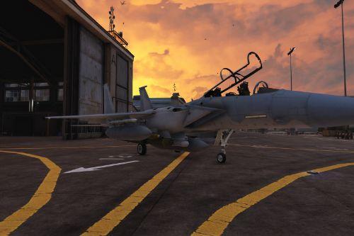 Handling for F-15E Strike Eagle