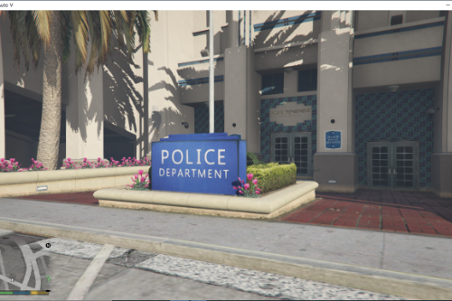 New LAPD Rockford Hills Police Station(Also LAFD Station)