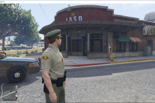 New LASD Grapeseed Sheriff Station