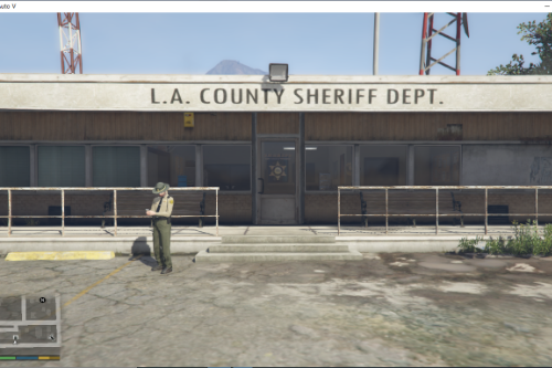 New LASD Sandy Shores Sheriff Station