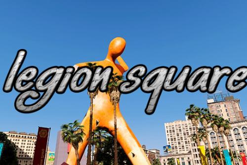 New Legion Square big statue