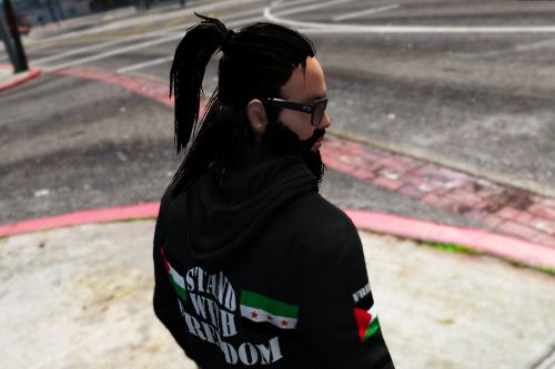 New Long Hairstyle for Trevor