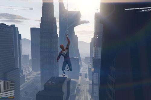 New Santos(new york similar) for spider-man mod.