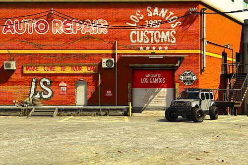 New Los Santos Customs with LODS