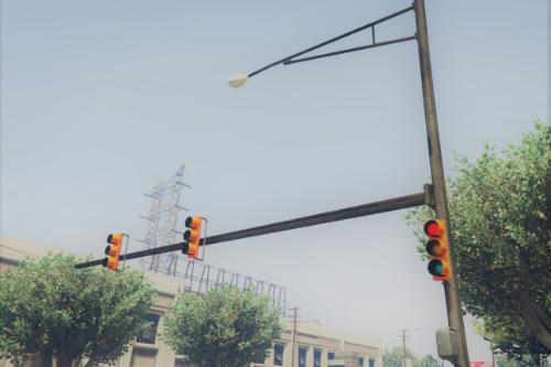 New Realistic Traffic Lights