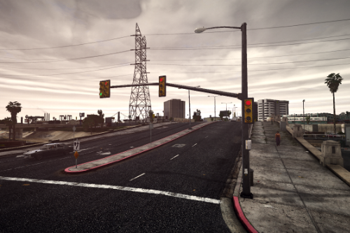New Realistic Traffic Lights