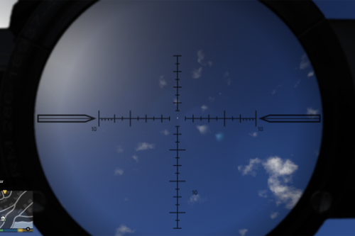 New sniper scopes & with OR without reticle and hit mark