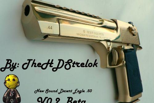 B28283 2 1878 desert eagle xix gold, .44 magnum