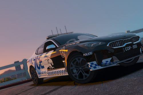 New South Wales Police Recruitment Branch Kia Stinger