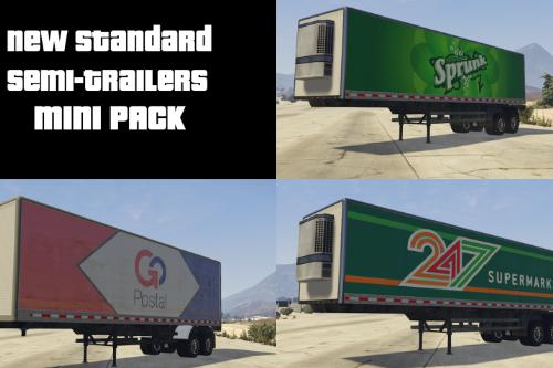 New Standard Semi-trailers Mini Pack [Paintjob]