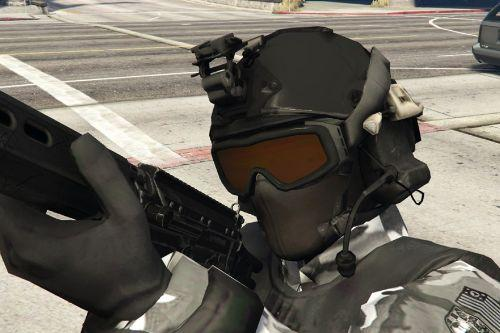 New SWAT Helmet