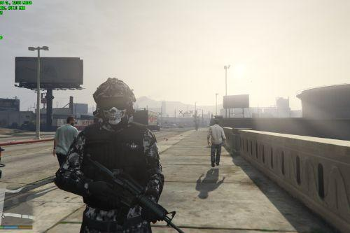 Elite Shadow Force Infantry