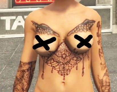 New Tattoos for Stripper