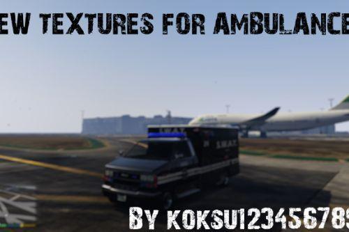 New textures for ambulances