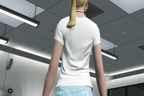New Textures for MP Female Short Jean Shorts by TacticalBanana7