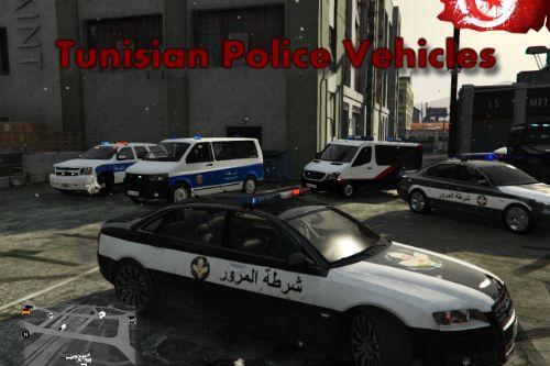 Tunisian Police Vehicles Pack