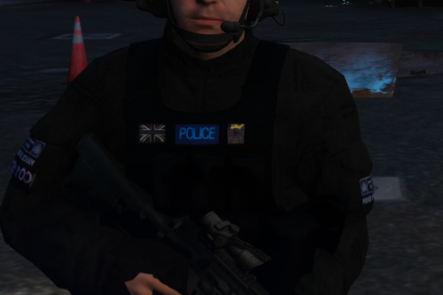 [NEW UNIFORM] Met Police SCO19 ARV Peds