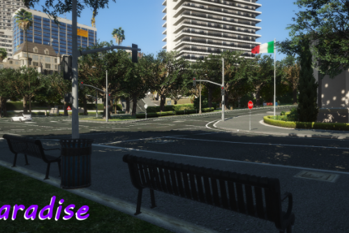 New Vegetation |Upper Los Santos| [MapEditor]