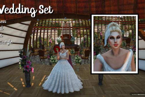 New Wedding Set for Female [SP / FiveM]
