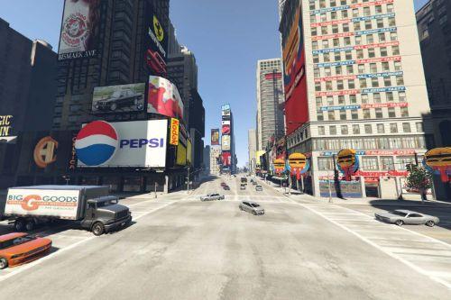 New York City 80's Map Overhaul