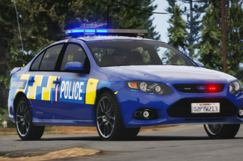 New Zealand Police Ford Falcon XR6 (Fictional)
